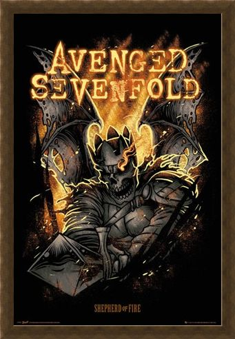 Framed Framed Shepherd of Fire - Avenged Sevenfold