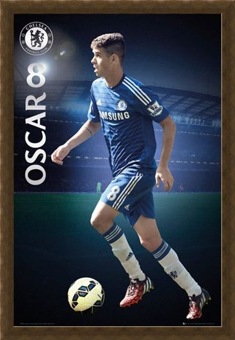 Framed Framed Oscar - Chelsea Football Club