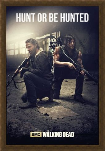 Framed Framed Hunt Or Be Hunted - The Walking Dead