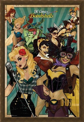 Framed Framed Leading Ladies - DC Comics Bombshells