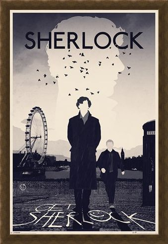 Framed Framed A Mysterious Mind - Sherlock Holmes