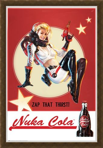 Framed Framed Zap That Thirst Nuka Cola - Fallout 4