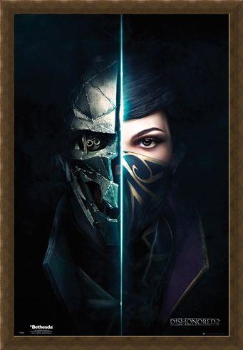 Framed Framed 2 Faces - Dishonored