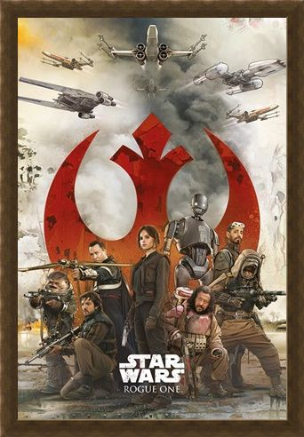 Framed Framed Rebels - Star Wars Rogue One