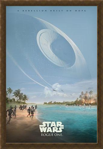 Framed Framed A Rebellion Built On Hope - Star Wars Rogue One