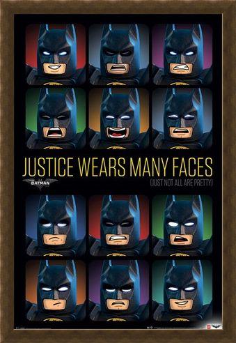 Framed Framed Justice Wears Many Faces - Lego Batman