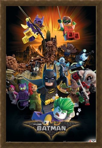 Framed Framed Boom! - LEGO® Batman Movie