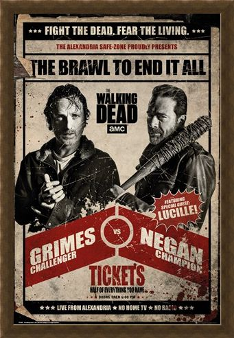 Framed Framed Fight Night - The Walking Dead