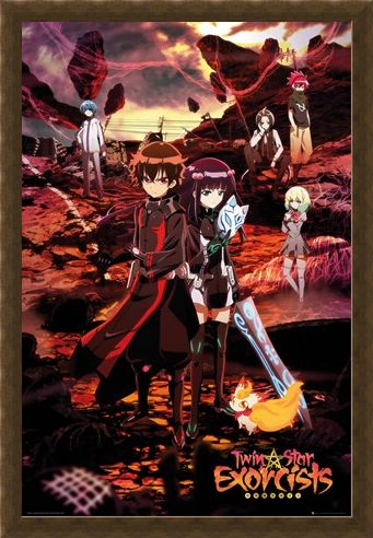 Framed Framed Sousei no Onmyouji - Twin Star Exorcists