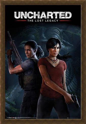Framed Framed The Lost Legacy - Uncharted
