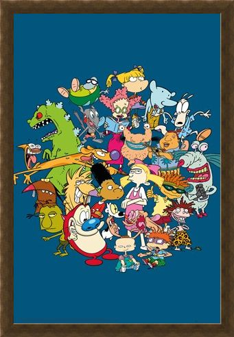 Framed Framed Group - Nickelodeon