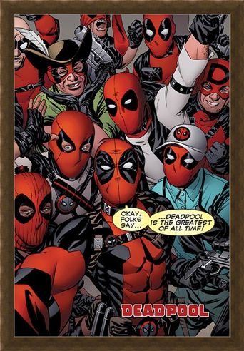 Framed Framed Selfie - Deadpool