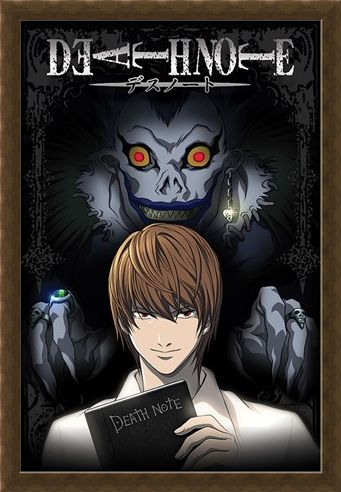 Framed Framed From The Shadows - Death Note