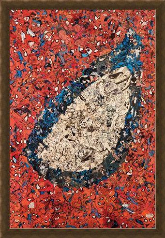 Framed Framed Eye Montage - Spider-Man