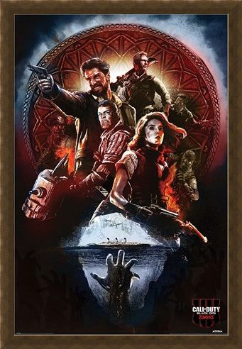 Framed Framed Black Ops 4 Zombies - Call of Duty