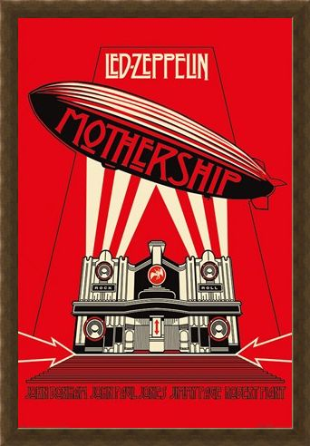 Framed Framed Mothership - Led Zeppelin