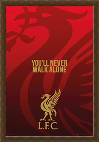Framed Framed With A Liverbird Upon My Chest! - Liverpool FC