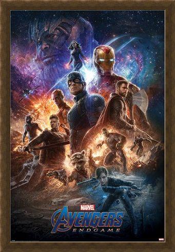 Framed Framed From The Ashes - Avengers: Endgame