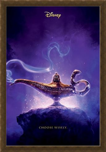 Framed Framed Choose Wisely - Aladdin Movie
