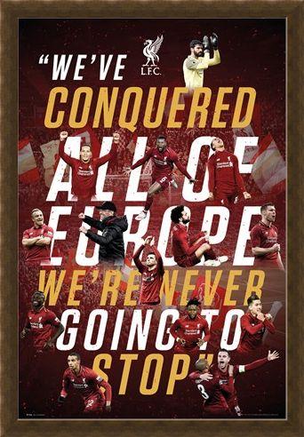Framed Framed Europe 2019 - Liverpool FC