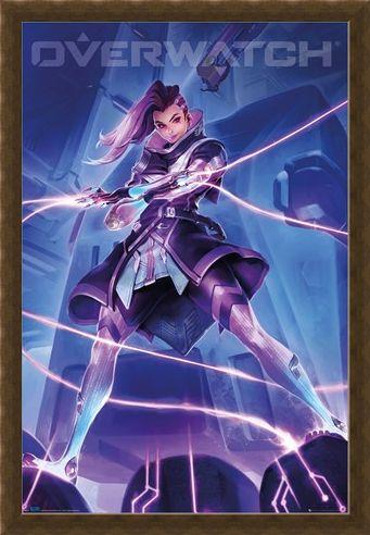 Framed Framed Sombra - Overwatch