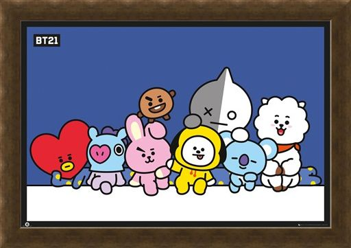 Framed Framed Group Shot! - BT21