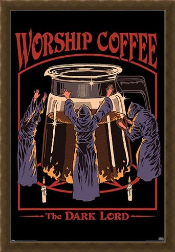 Framed Framed Worship Coffee - Steven Rhodes