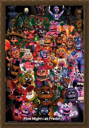 Framed Framed Ultimate Group - Five Nights at Freddy's