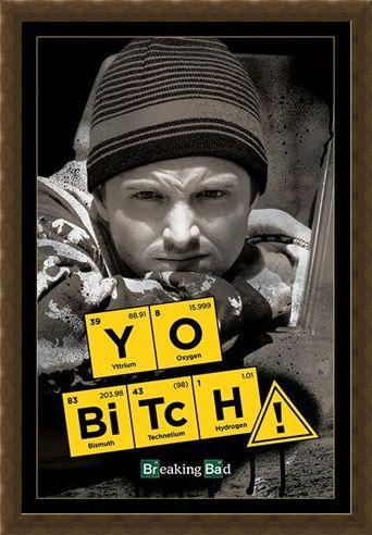 Framed Framed Yo Bitch - Breaking Bad