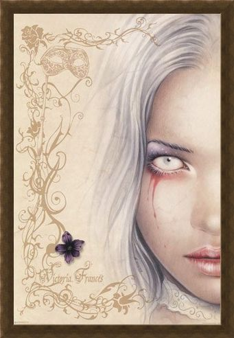 Framed Framed Tears of Blood - Victoria Frances