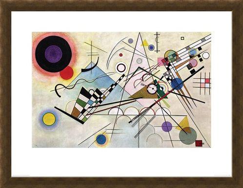 Framed Framed Composition VIII - Wassily Kandinsky