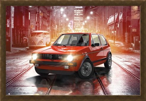 Framed Framed Iconic MK1 - VW Golf GTI