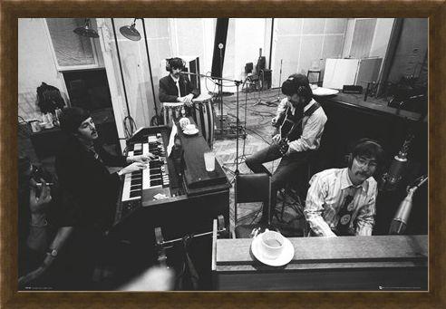 Framed Framed Studio Sgt Pepper - The Beatles