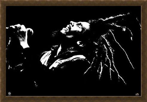 Framed Framed King of Dreads - Bob Marley
