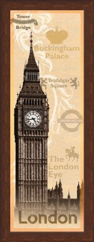 Framed Framed London Landmarks - Iconic London Sights