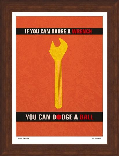 Framed Framed Minimal Movies: A Wrench Dodgeball - Dodge a Wrench Dodge a Ball