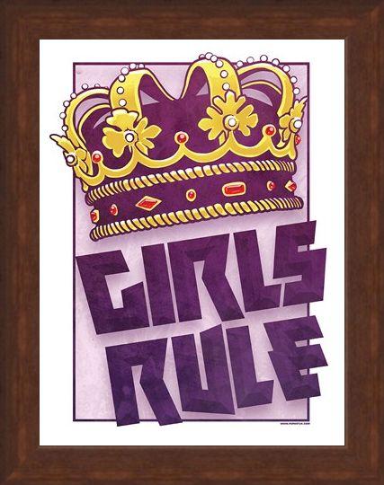 Framed Framed The Law Of The World - Girls Rule