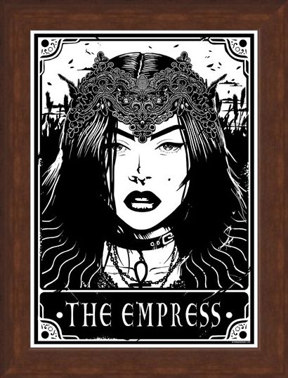 Framed Framed The Empress - Deadly Tarot