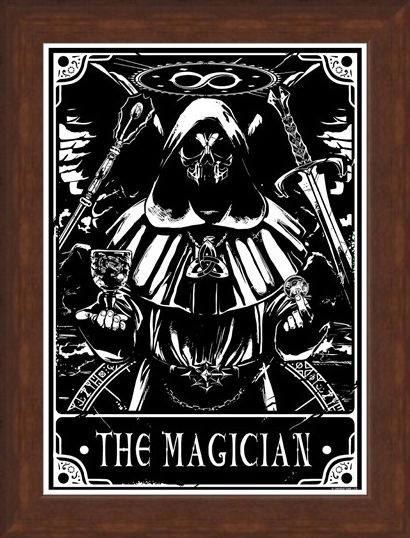 Framed Framed The Magician - Deadly Tarot
