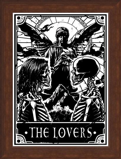 Framed Framed The Lovers - Deadly Tarot