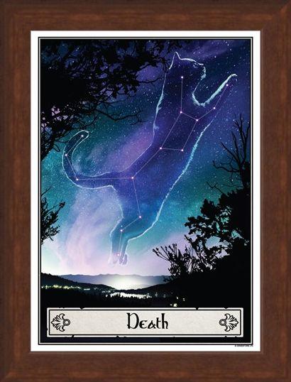 Framed Framed Death - Deadly Tarot Felis