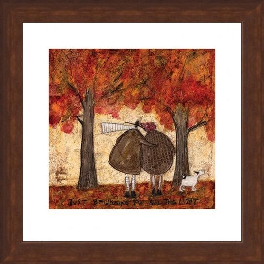 Framed Framed Just Beginning To See The Light - Sam Toft