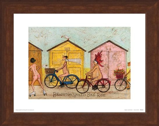 Framed Framed Brighton Naked Bike Ride - Sam Toft