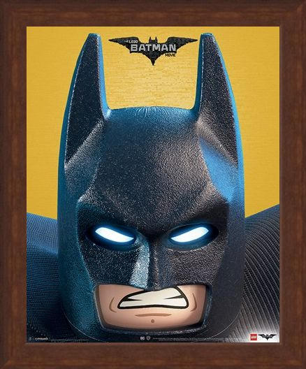 Framed Framed A DC Close Up - Lego Batman