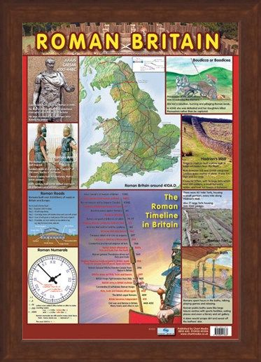 Framed Framed The Roman Timeline in Britain - Roman History