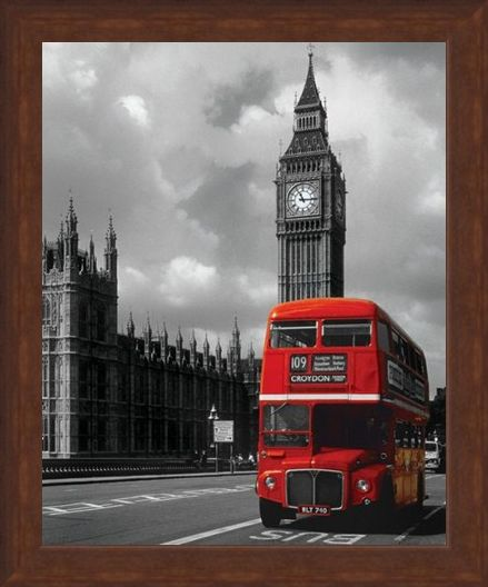 Framed Framed Westminster Icons - London Photography