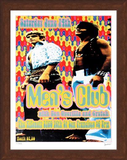 Framed Framed Men's Club - Frank Kozik
