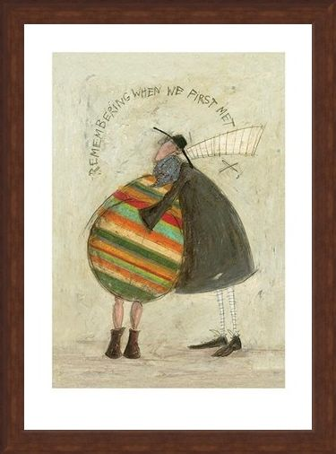 Framed Framed Remembering When We First Met - Sam Toft