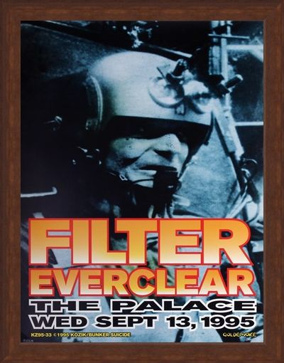 Framed Framed Filter supported by Everclear - Frank Kozik