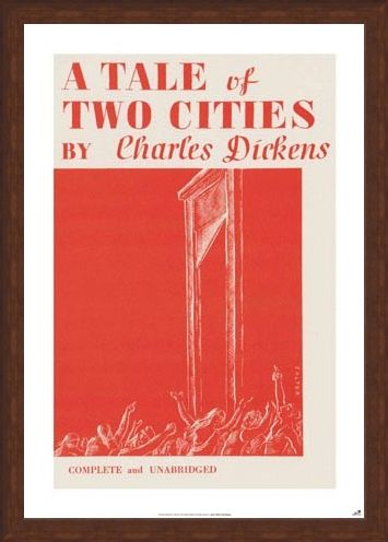 Framed Framed A Tale of Two Cities - by Charles Dickens